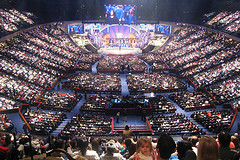 Lakewood, largest church in US (picture by j foong)